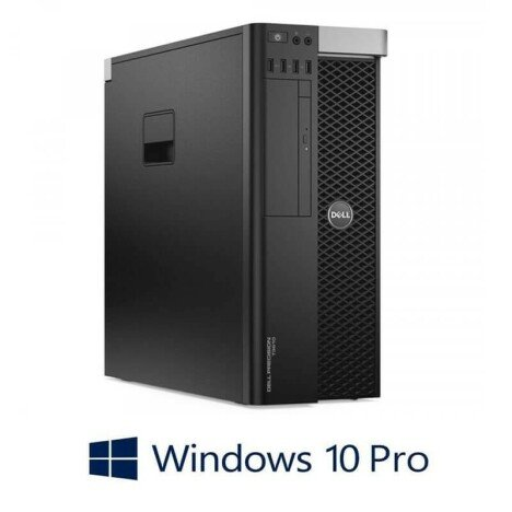 Workstation Refurbished Dell Precision T3600, E5-2620, Quadro 2000, Win 10 Pro